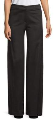 Escada Wide-Leg Stretch Pants