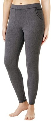 Cuddl Duds Climateright By ClimateRight by Women's and Women's Plus Comfort Core Warm Underwear Legging
