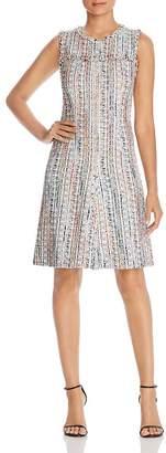 Elie Tahari Dean Tweed Dress