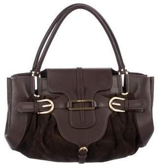 Jimmy Choo Leather & Suede Tulita Bag