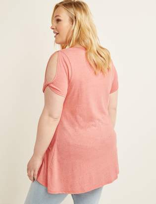 8ee9c1c41 Lane Bryant Pink Plus Size Tops - ShopStyle