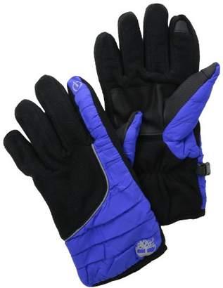 Timberland Men's Fleece Windproof Glove with Touchscreen Capability