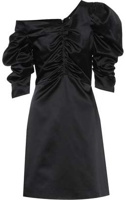 Isa Arfen Cotton-blend satin dress