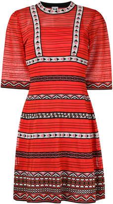 M Missoni pattern panel dress