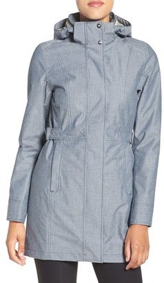 The North Face Laney Novelty Trench Raincoat $199 thestylecure.com