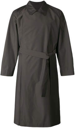 E. Tautz double breasted trench coat
