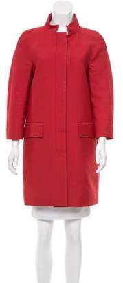Stella McCartney Knee-Length Button-Up Coat