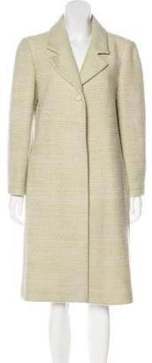 Chanel Wool Long Coat