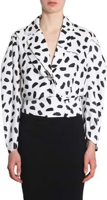 Off-White Puff Sleeve Jacket