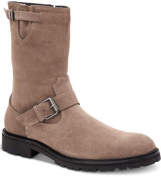 Calvin Klein Men Ugilio Faux Suede Boots Men Shoes