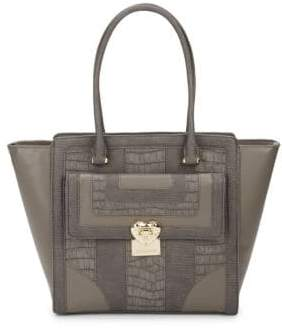Love Moschino Zip Faux Leather Tote