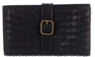 Bottega Veneta Vintage Intrecciato Wallet