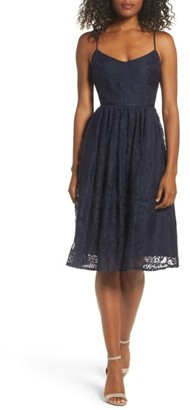 Women's Bb Dakota Galena Fit & Flare Dress $105 thestylecure.com