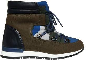 Stella McCartney Waterproof Nylon & Faux Suede Snow Boots