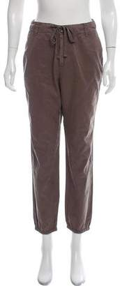 James Perse High-Rise Skinny Joggers