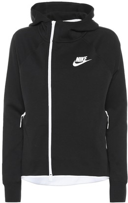 Nike Sportswear Tech cotton-blend hoodie