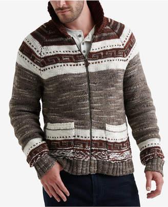 Lucky Brand Men's Zip-Front Hoodie Sweater