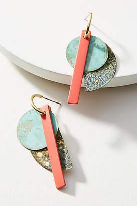 Sibilia Good Fortune Petite Linear Drop Earrings