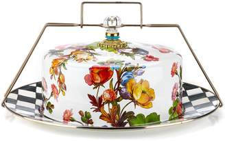 Mackenzie Childs Flower Market Enamel Cake Carrier (40cm)