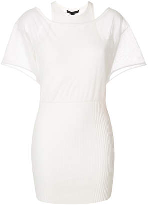 Alexander Wang layered T-shirt dress