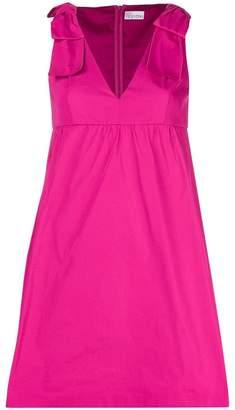 RED Valentino shoulder bow pinafore dress
