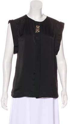 DAY Birger et Mikkelsen Embellished Short Sleeve Blouse