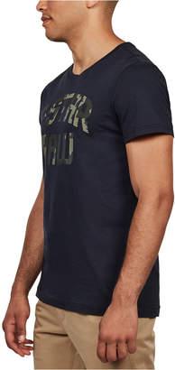 G Star Men 22 Camo Logo T-Shirt