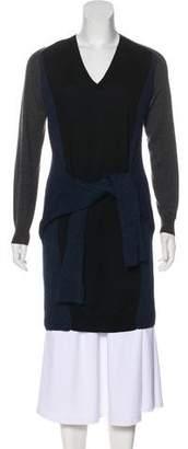 Jean Paul Gaultier Virgin Wool V-Neck Sweater