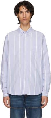 Hope Blue Striped Button Down Shirt