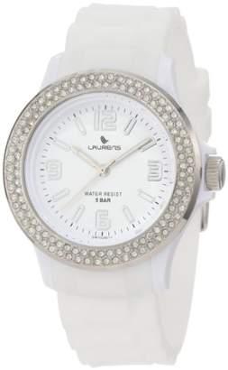 Swarovski Laurens Women's GW70J901Y Crystal Bezel Dial Rubber Watch