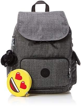 Kipling (キプリング) - [キプリング] Amazon公式 正規品 CITY PACK S リュック K70173 14F Cotton Gr Emo