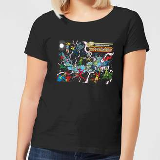 Justice League Crisis On Infinite Earths Cover Women's T-Shirt