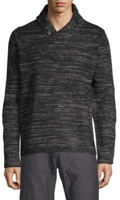 ProjekRaw Knit Shawl Collar Sweater