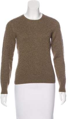 Loro Piana Long Sleeve Crew Neck Sweater