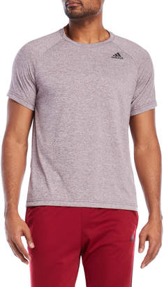adidas Heather Active Tee