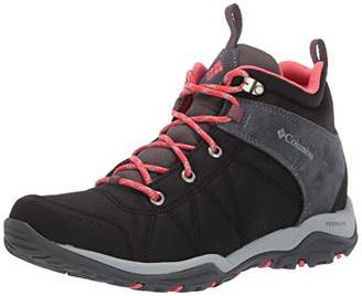 Columbia Women's FIRE Venture MID Textile Hiking Boot,6 Regular US