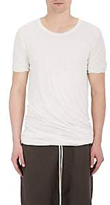 Rick Owens Men's Double-Layered Cotton Jersey T-Shirt - White