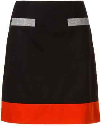 Paule Ka colour block skirt