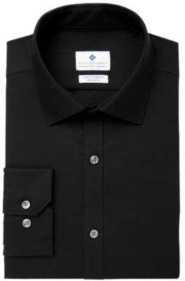 Ryan Seacrest Distinction Ryan Seacrest DistinctionTM Men's Ultimate Extended Sizing Slim-Fit Non-Iron Performance Stretch Dress Shirt, Created for Macy's