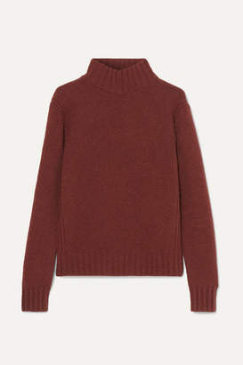 J.Crew Isabel Knitted Turtleneck Sweater - Brown