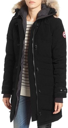 Women's Canada Goose 'Lorette' Hooded Down Parka With Genuine Coyote Fur Trim $950 thestylecure.com