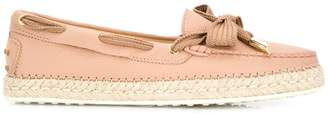 Tod's espadrille loafers