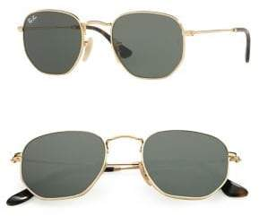 Ray-Ban 51mm Flat Lens Metal Sunglasses