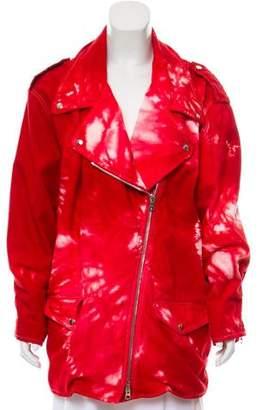 Isabel Marant Printed Denim Jacket