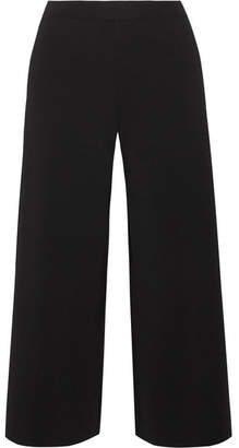 Theory Henriet K Stretch-crepe Culottes - Black