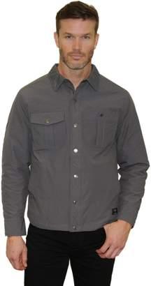 Mountain And Isles Men's Mountain and Isles Melange Puffer Shirt Jacket