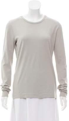 Dries Van Noten Long Sleeve Scoop Neck T-Shirt