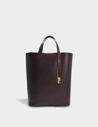 Sophie Hulme The Exchange N/S Bag in Oxblood Cowhide Leather