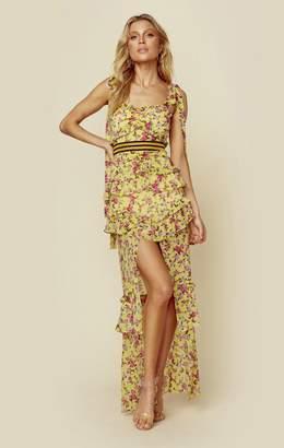For Love & Lemons MAISON MAXI DRESS