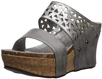 Volatile Silver Platform Womens Sandals Shopstyle